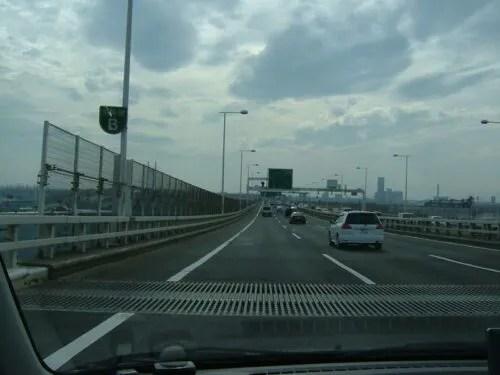 前方に横浜