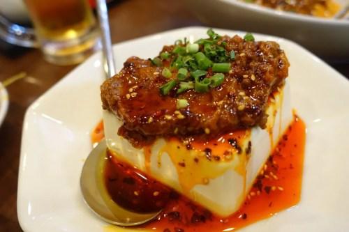 肉味噌豆腐