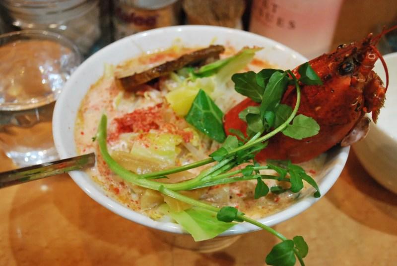オマール海老の味噌ラーメン
