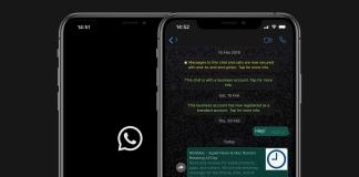 WhatsApp Dark Mode iOs