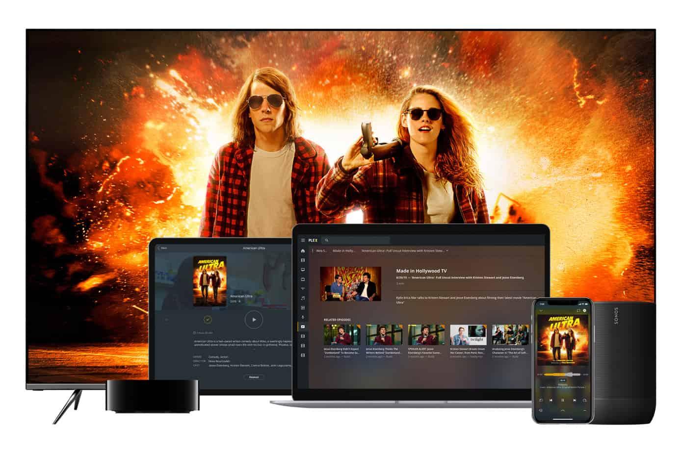 Plex lance un service de streaming gratuit supporté par la publicité dans plus de 200 pays. via @awasocial