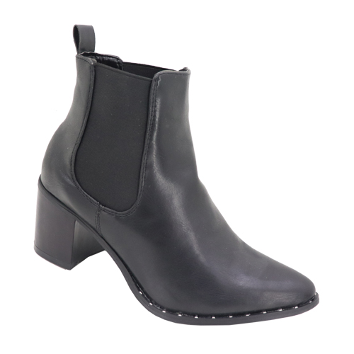 Pointy Chelsea Ankle Boots