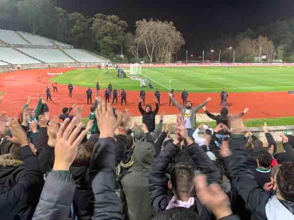 Voetbalreis Lissabon: spontane away day met Vitoria Setubal
