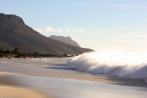 Waves at Camps Bay