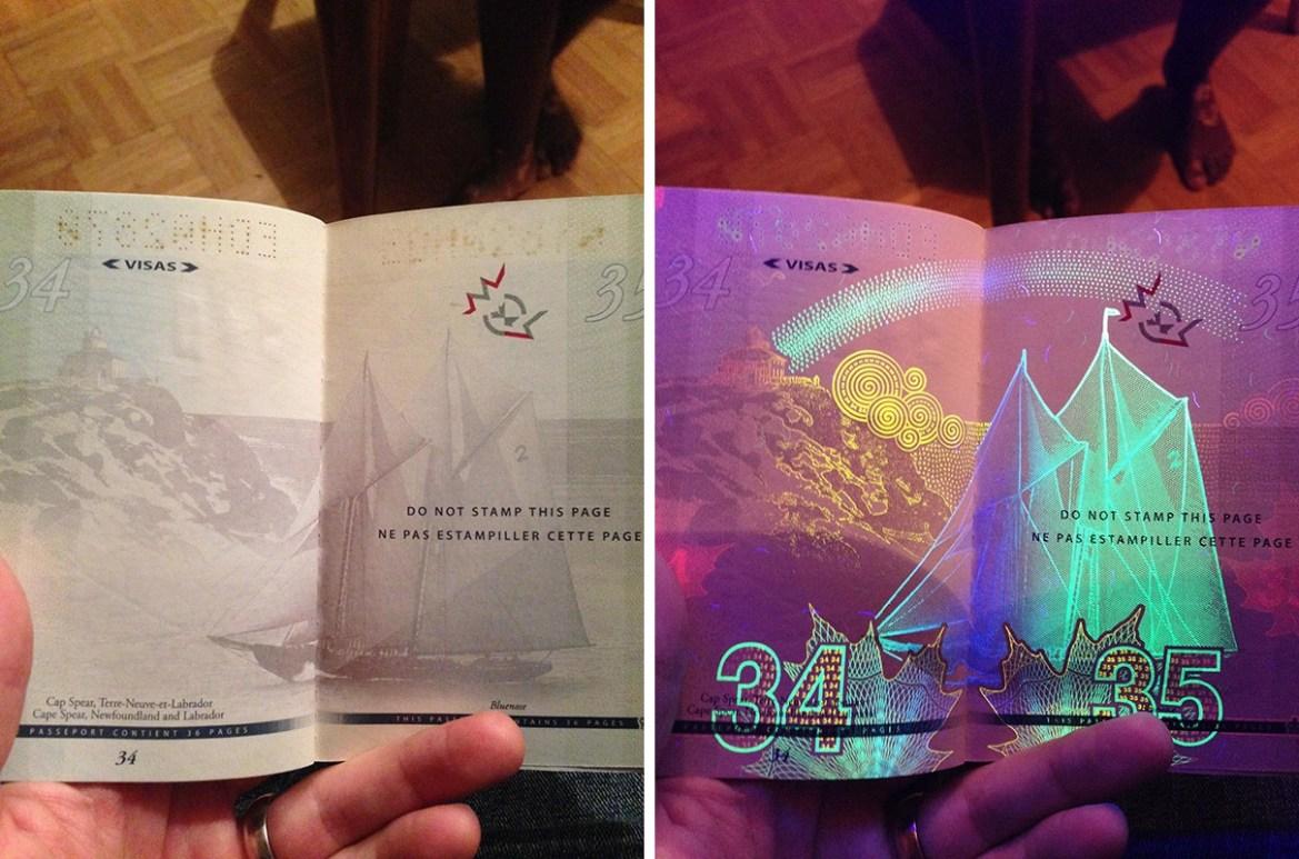 passport canada - World's Most Coolest Passports