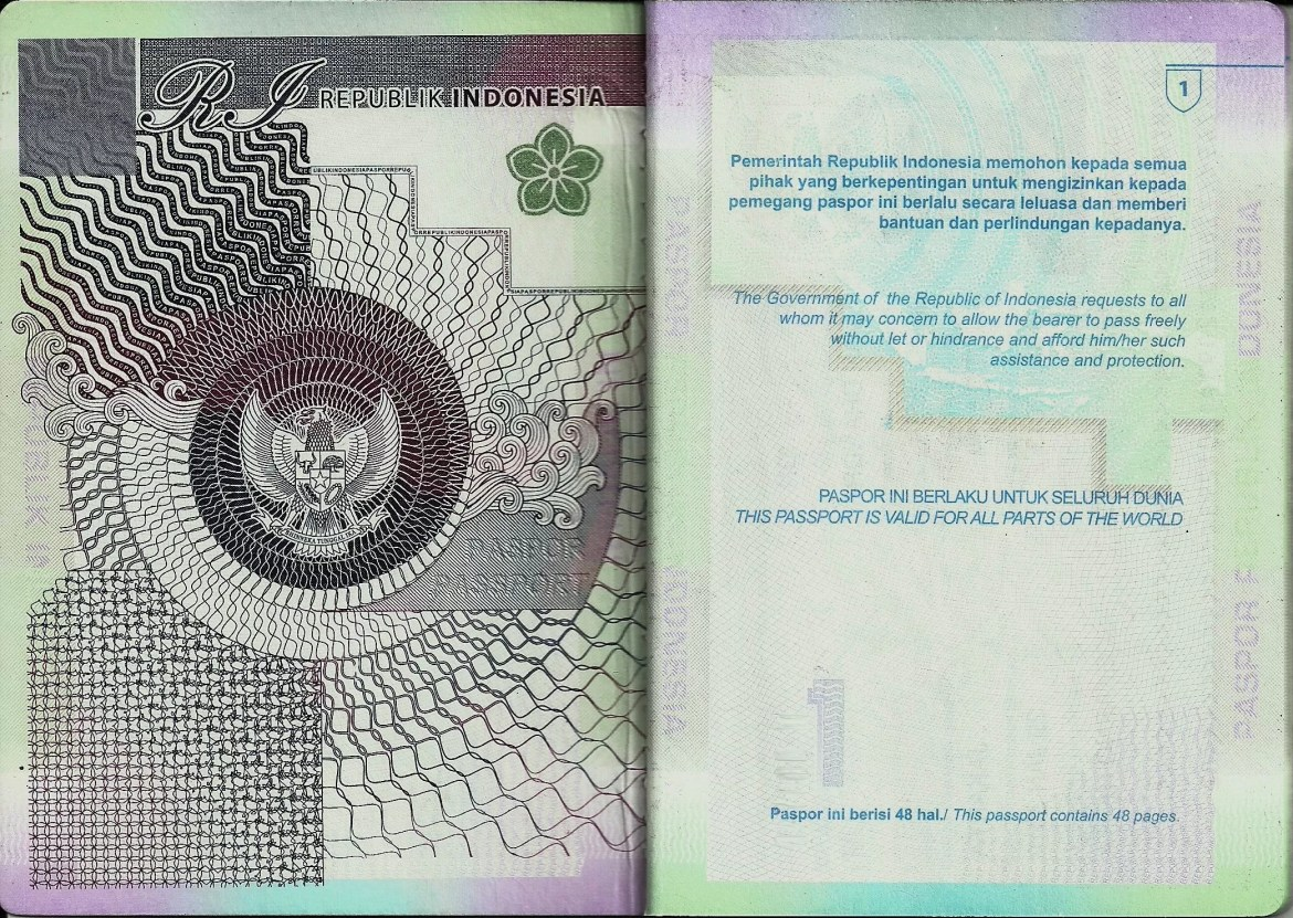 passport indonesia - World's Most Coolest Passports