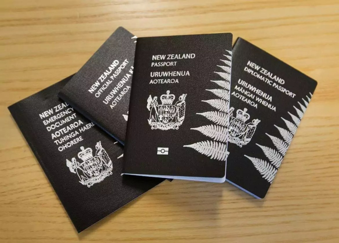 passport newzealand - World's Most Coolest Passports