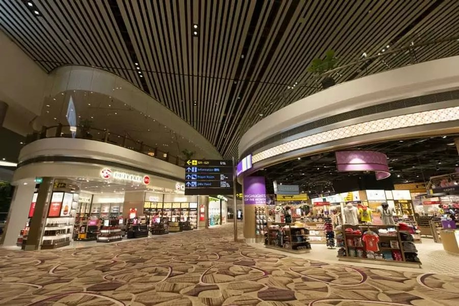 singapore changi airport2 - Most beautiful airports in the world