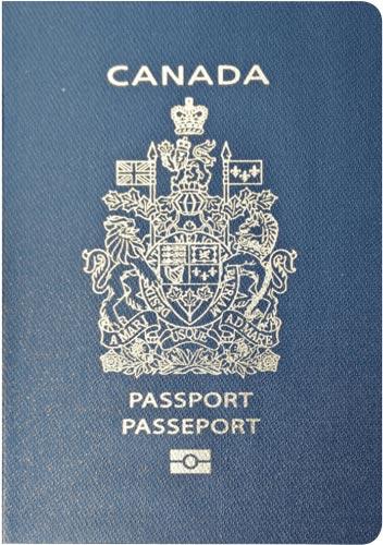 canada passport - World's Most Coolest Passports
