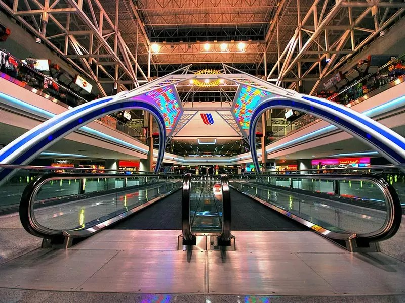 denver airport 02 - Most beautiful airports in the world