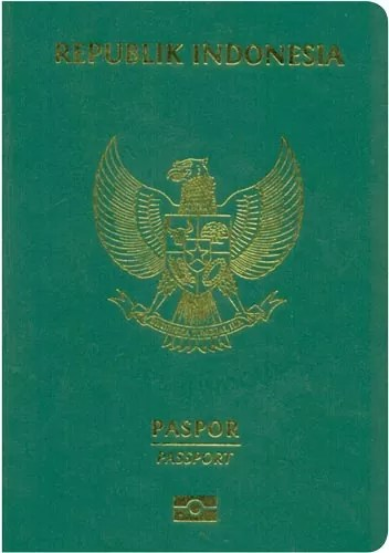 indonesia passport - World's Most Coolest Passports