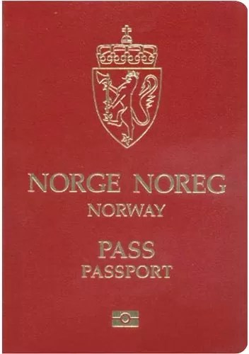 norway passport - World's Most Coolest Passports