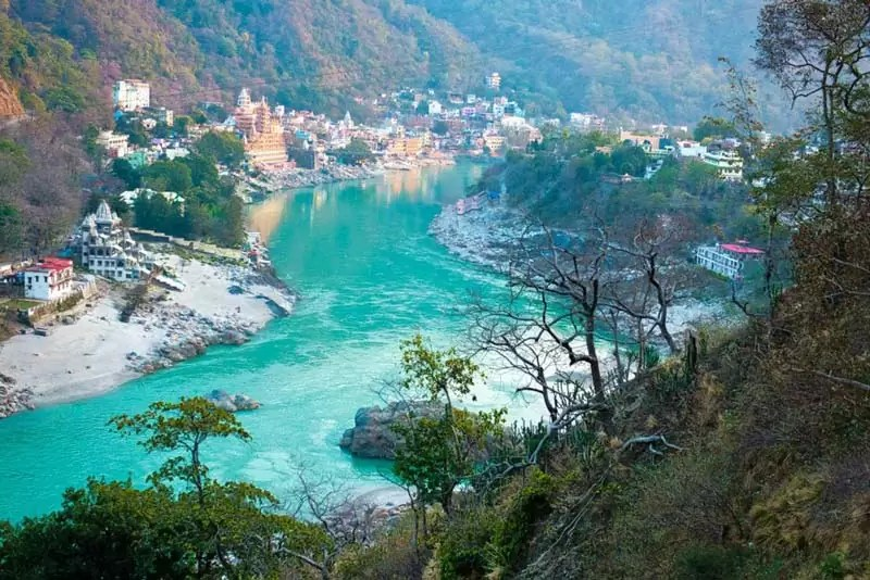 rishikesh - Best places to visit in India during summer