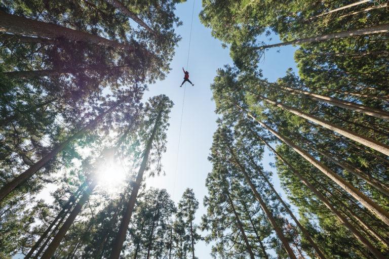 ziplining - Adventure activities in Southeast Asia