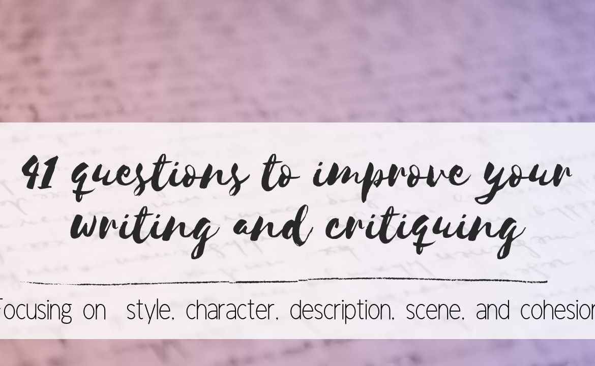 Improve Writing and Critiquing