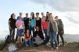 Team 16A conquered Arthur's Seat. Photo by: Emily