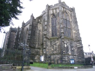 The old Church (or Kirk, as they can be known in Scotland)
