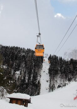 Sella Nevea has surprisingly new gondola Infrastructure