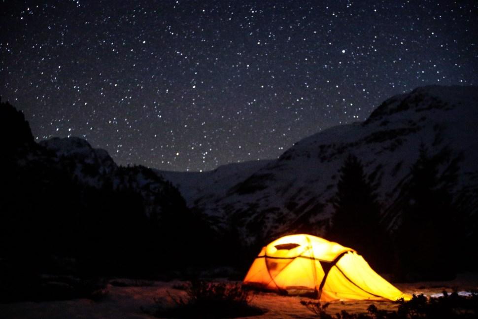 So far away Kaunertal is full of stars.