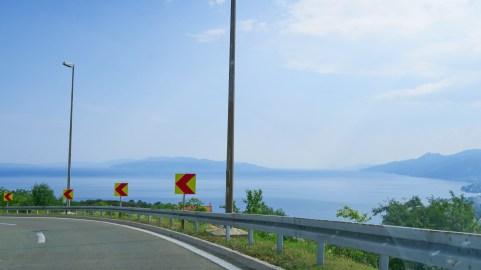 Finally the Adriatic sea.