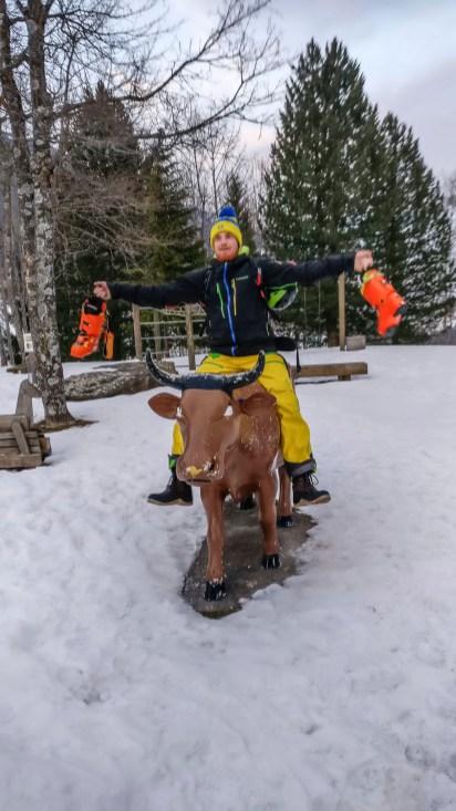 Gašper proffesional bull rider.