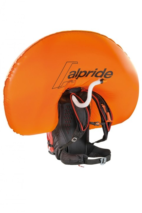 Airbag front with respirator.
