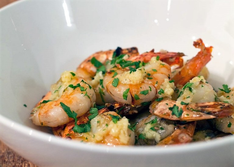Brisbane Tipps Garlic King Prawns (2)