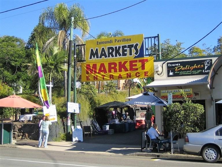 Daytrips Brisbane_Eumundi Markets Sunshine Coast