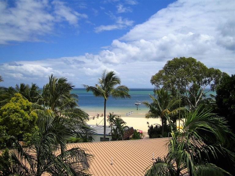 Daytrips Brisbane_Meerblick Tangalooma Resort Moreton Island