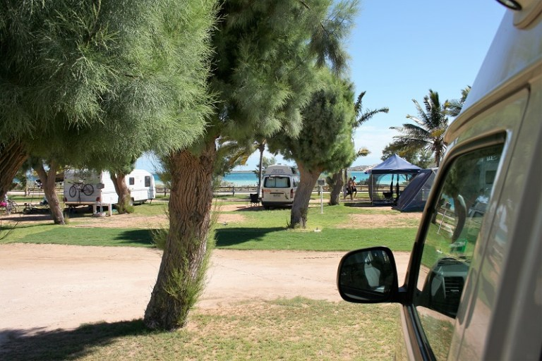 Westaustralien Roadtrip Perth Exmouth Campingplatz Coral Bay