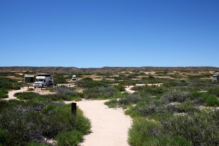 Westaustralien Roadtrip Perth Exmouth Campingplatz Kurrajong Bay