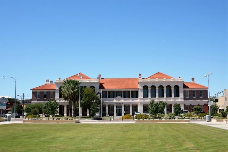 Westaustralien Roadtrip Perth Exmouth Geraldton Courthouse