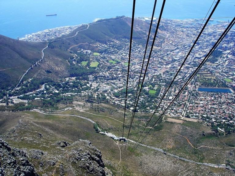 Kapstadt Highlights Gondel Tafelberg
