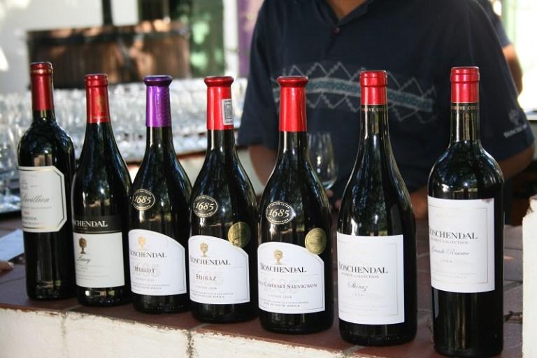 Kapstadt Highlights Stellenbosch Weinverkostung Boschendahl
