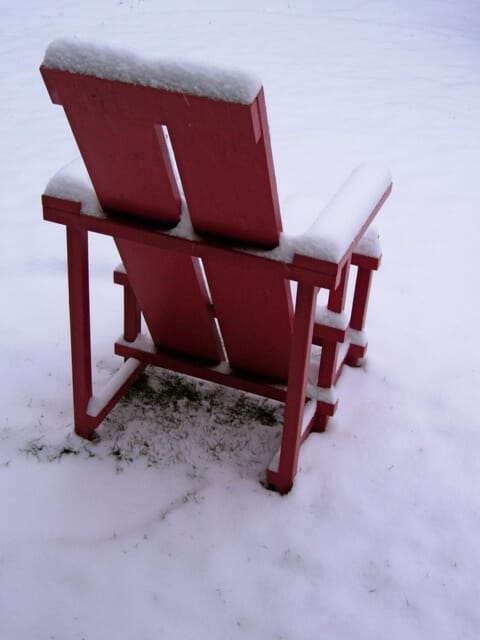red Wave Hill chair