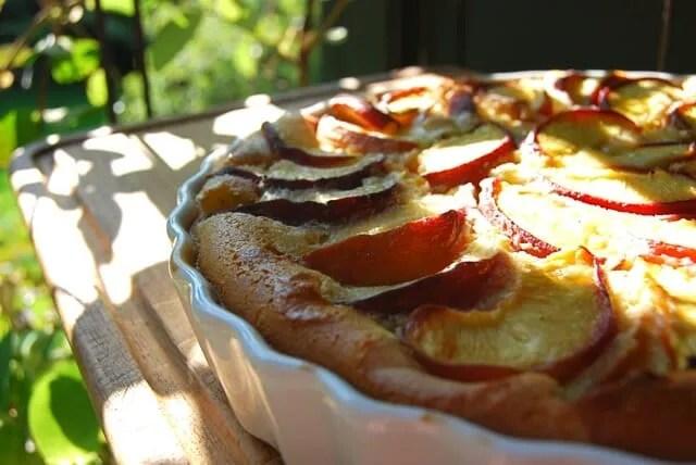 peach clafoutis 3