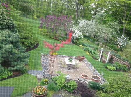 May 14 view out my window