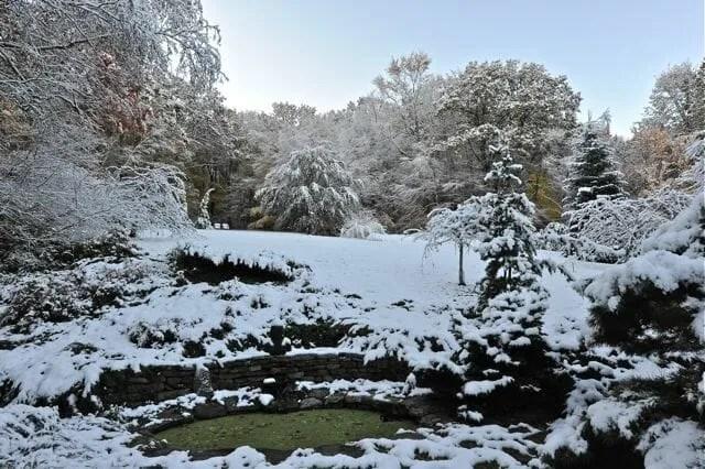 October 27 snowfall