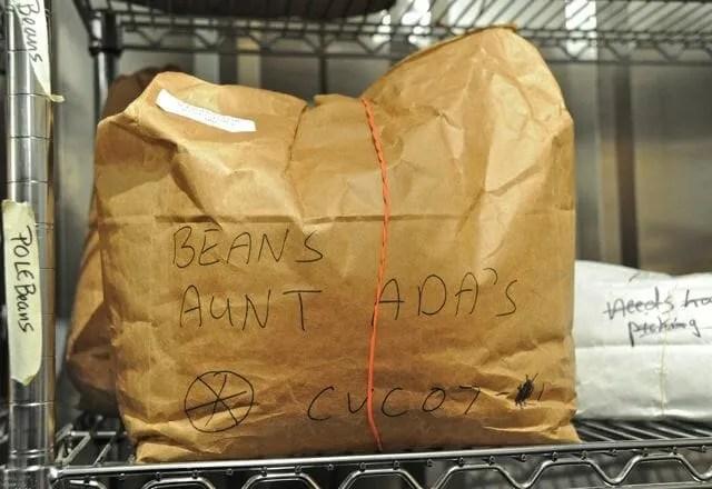 aunt ada's beans storage