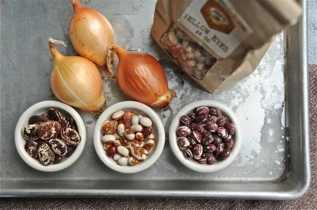 dried heirloom beans