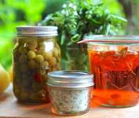 herb salts and vinegars: preserving tips with gayla trail