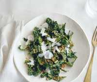 andrew weil's cookbook 'true food,' and his tuscan kale salad recipe