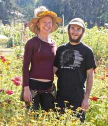 Dylana and Mario of Peace Seedlings