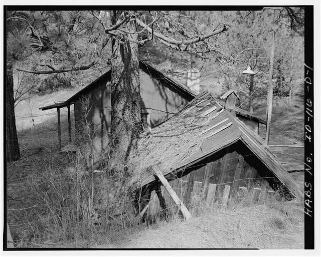 Boise, Idaho, historic root cellar