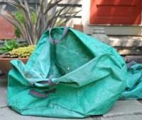 in praise of the tip bag, my debris-gathering tool