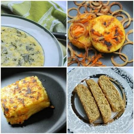 Polenta recipes collage