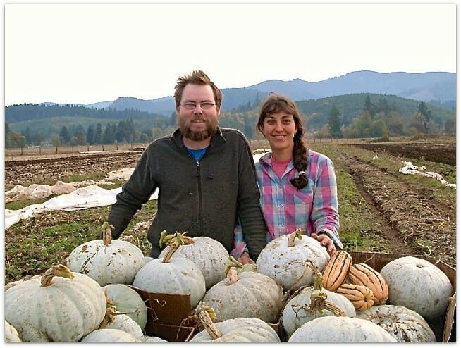 Sarah Kleeger and Andrew Still of Adaptive Seeds