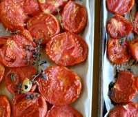 herbed roasted tomatoes to freeze, with alana chernila