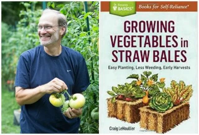 straw bale gardening by craig lehoullier