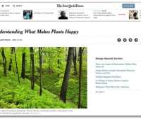 'what makes plants happy:' my new york times q&a with thomas rainer